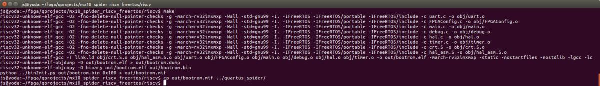 RISC-V & FreeRTOS - spiderboard org
